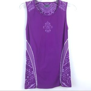 Atleta Printed Fitted Shaping Design Tank Top